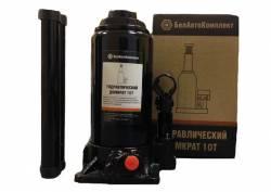 Домкрат гидравлический 10т (200-390мм) карт/уп. (2 клапана)