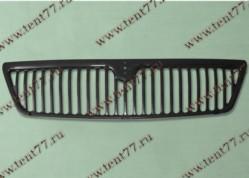 Решетка радиатора Газель 3302 н/об. пластм. (черный)