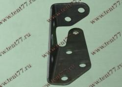 Кронштейн бруса противоподкатного Газель 3302 БИЗНЕС  (левый) короткий (148*80*64)
