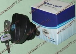 Крышка б/бака Газель 3302,УАЗ-3163 с ключом (черный)