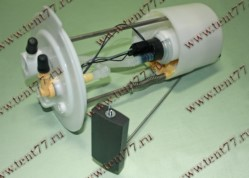 Бензонасос электрический погружной (модуль) двигатель EvoTech 2.7 Газель Некст NEXT  ЦМФ  (пластм. бак)