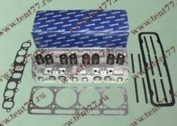 Головка блока цилиндров  двигатель 4216 БИЗНЕС с отверстиями под катушку с прокладками и крепежем