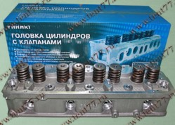 Головка блока цилиндров  двигатель 4216 БИЗНЕС с отверстиями под катушку