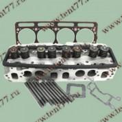 Головка блока цилиндров  двигатель 4216 (с ГБО) прокладки и крепеж