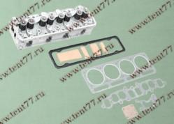 Головка блока цилиндров  двигатель 4216  ЕВРО-3 прокладки и крепеж без отверстий под катушку