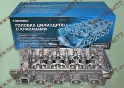 Головка блока цилиндров  двигатель 406, 405, 409 (5-ти опорная)