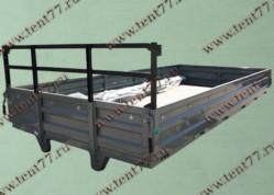 Платформа Газель Некст NEXT в сборе (металлические борта, тент, каркас)  удлин.база 4,25м