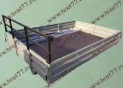 Платформа Газель Некст NEXT в сборе (металлические борта, тент, каркас)