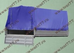 Платформа Газель 3302 нового образца (металлические борта, тент, каркас)