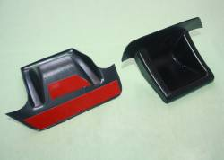 Накладка на зеркала заднего вида Газель Некст АБС-пластик (левая, правая)