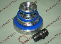 Переходник масл.фильтра двигатель Cummins 2.8 к фильтру двигательЗМЗ 406 (с силикон.уплотн)