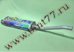 Глушитель Газель 2217 двигатель УМЗ-4216, Chrysler усиленный