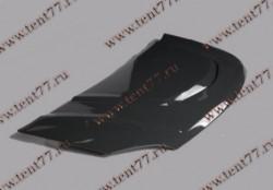 Капот Газель Некст NEXT пластик черный Тюнинг