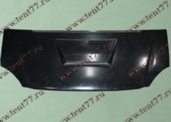 Капот Газель 3302 н/об пластик  СТЕЛС-2  с возд/заб. (под покраску)
