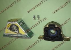 Опора карданного вала  Газель 3302 (н/об) в сборе (с кронш) УС