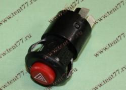 Кнопка аварийная 12В Г,ПАЗ,ВАЗ (6 конт)