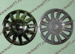 Колпак колеса декор. R16 Газель 3302  Элегант хром  перед.(к-т 2шт)