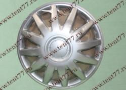 Колпак колеса декор. R16 Газель 3302  Элегант серебро  перед.(к-т 2шт)