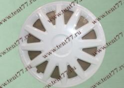 Колпак колеса декор. R16 Газель 3302  Элегант белый  задн.(к-т 2шт)