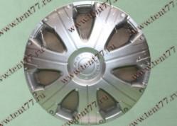 Колпак колеса декор. R16 Газель 3302  Расинг серебро-  задн.(к-т 2шт)