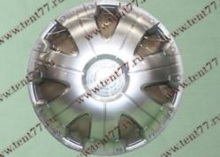Колпак колеса декор. R16 Газель 3302  Расинг серебро  перед.(к-т 2шт)