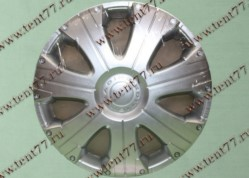 Колпак колеса декор. R16 Газель 3302  Расинг серебро  задн.(к-т 2шт)