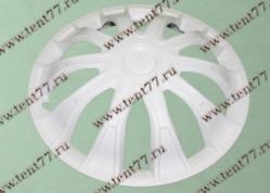 Колпак колеса декор. R16 Газель 3302  Волтек белый  перед.(к-т 2шт)