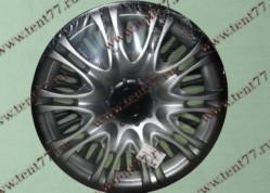 Колпак колеса декор. R16 Газель 3302  X5 серебро-  задн.(к-т 2шт)