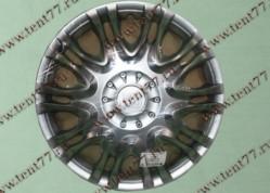 Колпак колеса декор. R16 Газель 3302  X5 серебро  перед.(к-т 2шт)