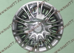 Колпак колеса декор. R16 Газель 3302  X5 серебро  задн.(к-т 2шт)