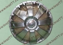Колпак колеса декор. R16 Газель 3302  RS-T серебро  перед.(к-т 2шт)