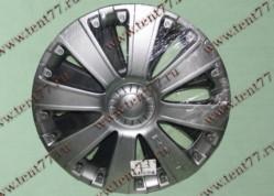 Колпак колеса декор. R16 Газель 3302  RS-T серебро  задн.(к-т 2шт)
