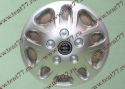 Колпак колеса декор. R16 Газель 3302  Мекадор серебро-  задн.(к-т 2шт)