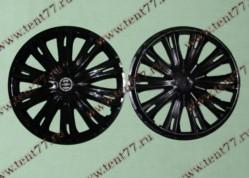 Колпак колеса декор. R16 Газель 3302  Гига черный  задн.(к-т 2шт)