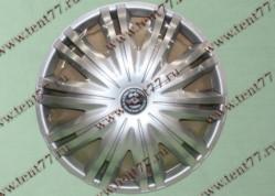 Колпак колеса декор. R16 Газель 3302  Гига серебро  перед.(к-т 2шт)