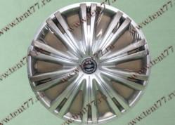 Колпак колеса декор. R16 Газель 3302  Гига серебро  задн.(к-т 2шт)