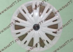 Колпак колеса декор. R16 Газель 3302  Гига белый  задн.(к-т 2шт)