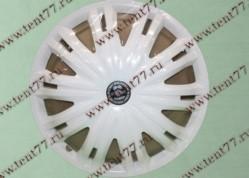 Колпак колеса декор. R16 Газель 3302  Гига белый  перед.(к-т 2шт)