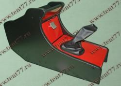 Консоль декор.Газель 3302 н/об. ламинат (красный)