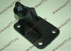 Кронштейн двигателя передний двигатель Cummins 2.8 Газель 3302 (правый) нового образца (подушка 7421018)