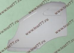 Крыло Газель 3302 лев-прав. пара пластик (белый) тюнинг  СТЕЛС