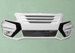 Бампер передний на Газель бизнес Не Веста Ne Vesta (2 противотуманки)