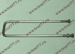 Стремянка кузовная Газель 3302 (340мм) в сборе (оцинк)