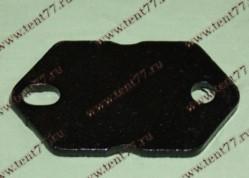 Пластина кузовной стремянки Газель 3302,53,3307 прижимная усил.8мм