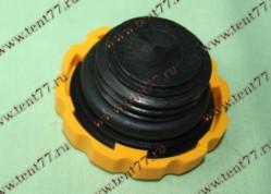 Крышка маслозалив. горловины  двигатель 4216 ЕВРО-4, ВАЗ 1118 с резьбой (желтый)