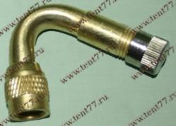 Удлинитель ниппеля Газель 3302 (латунь) угловой 45гр.
