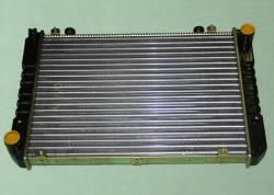 Радиатор охлаждения двигателя Газель 3302 3-х рядный нового образца алюминиевый