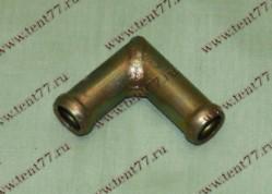 Переходник (угольник) отопителя d=16 (метал)