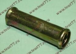 Переходник (прямой) отопителя d=18 (метал)