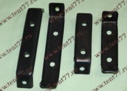 Кронштейн брызговика заднего Газель 3302 (комплект 4шт) метал.